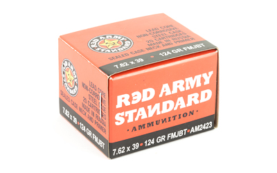 CENTURY ARMS 7.62X39 124GR FMJ 20RD BOX/1000RD CASE