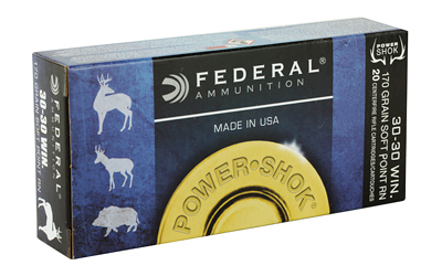 FEDERAL POWERSHOK 3030WN 170 GRAIN SP RN 20/200 AMMUNITION