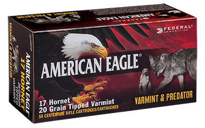 FED AM EAGLE V&P 17HRN 20GR 50/500