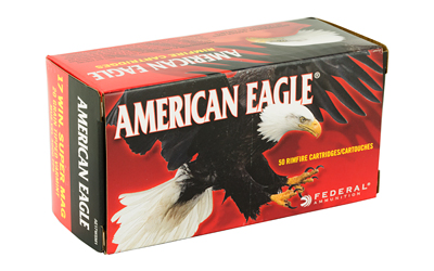 FEDERAL AMERICAN EAGLE 17WSM 20GR VARM 50/500 AMMUNITION