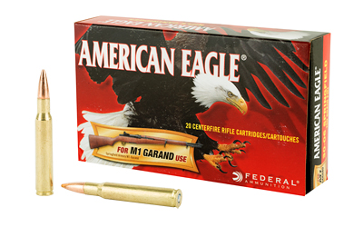 FED AM EAGLE 3006 150GR FMJ M1 20/20