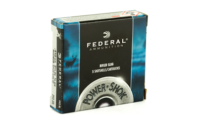 FEDERAL POWERSHOK 410 GAUGE 2.5 MX RFL SL 5/250 AMMUNITION