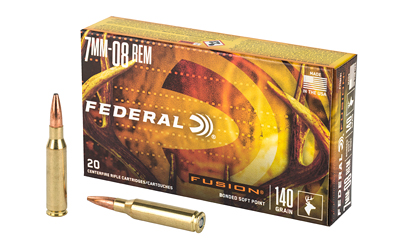 FEDERAL FUSION 7MM-08 140GR 20/200 AMMUNITION