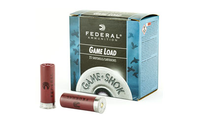 "FED GAME LOAD 12GA 2 3/4"" #8 25/250"