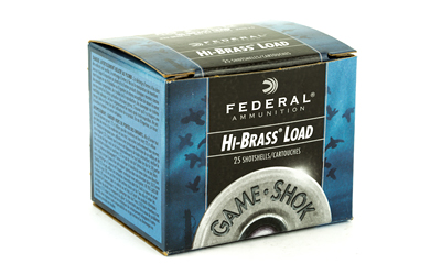 "FEDERAL GAMESHOK HI-BR 410 GAUGE 3"" #7.5 25/250 AMMUNITION"
