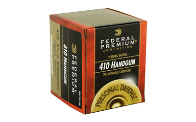 "FEDERAL PERSONAL DEFENSE 410GA 2.5"" 000BK 20/200 AMMUNITION"