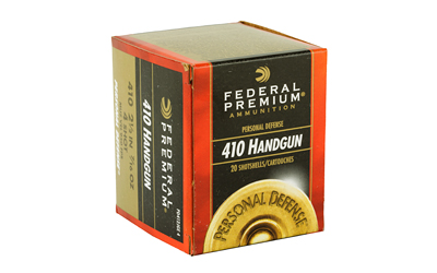 "FEDERAL PERSONAL DEFENSE 410GA 2.5"" #4 20/200 AMMUNITION"