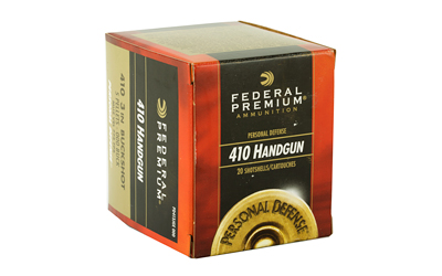 "FEDERAL PREMIUM PERSONAL DEFENSE 410GA 3"" 000 BUCK 20/200"