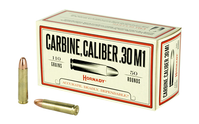 HORANDY 30CARB 110GR FMJ 50 RD AMMO BOX