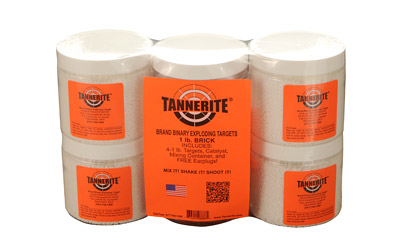TANNERITE BRICK 1LB EXPLODING TARGETS 4 PACK