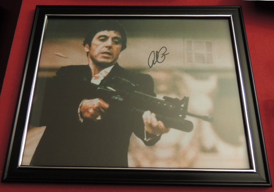 Exclusive 'Scarface' Al Pacino Gun Display Case